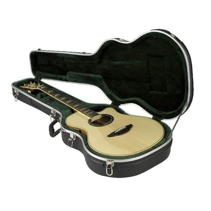 skb thin line acoustic electric classic guitar flight case tool cases direct. Black Bedroom Furniture Sets. Home Design Ideas